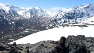 Galdhøpiggen - góry Skandynawii