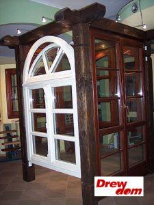 drewniana stolarka okienna