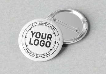 przypinki z firmowym logo